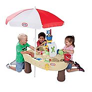 Deluxe Anchors Away Pirate Ship with Canopy