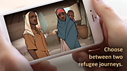 Experience the journey of a refugee