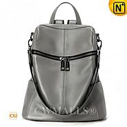 CWMALLS® Womens Leather Convertible Backpack