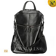 CWMALLS® Convertible Leather Travel Backpack CW207007