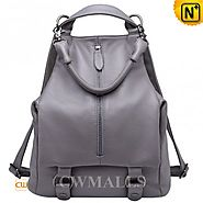 CWMALLS® Denver Convertible Leather Backpack CW206203