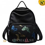 CWMALLS® Omaha Butterfly Print Backpack CW207016