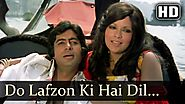 do lafzon ki hai | The Great Gambler (1979) | Zeenat Aman & Amitabh Bachchan
