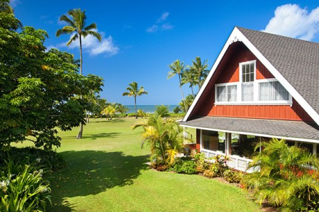 Headline for Historic Hanalei Beach Houses