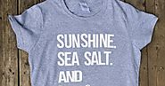 Sunshine. Sea Salt. And Ice Cream Shirt || May Silhouette Challenge