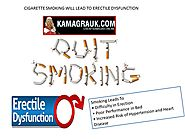 Cigarette Smoking Will Lead To Erectile Dysfunction