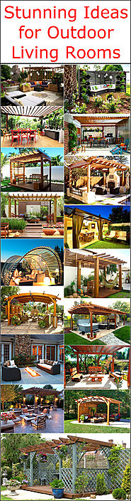 Stunning Ideas for Outdoor Living Rooms