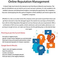 Best Online Reputation Management Consultants in India