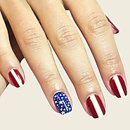 Happy 4th of July Nail Art 2017 – Easy 4th of July Nail Designs | Fourth of July Nails Designs