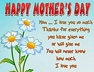 Happy Mothers Day Sayings 2017 - Best & Cute Things To Say On Mother's Day