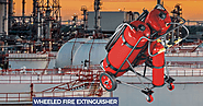 Wheeled Fire Extinguisher - Fire Safety, Fire Fighting Equipment