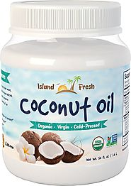 BEST SELLER Island Fresh Superior Organic Virgin Coconut Oil, 54 Ounce