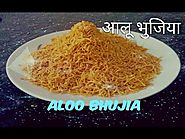 Aloo Bhujia Namkeen | Holi Special Recipe | Easy step by step Hindi recipe | Teatime snack