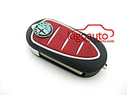 Flip key shell 3 button for Alfa Romeo GTO 159 Mito