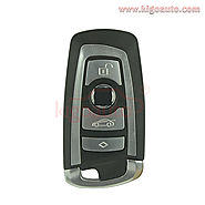 Smart key case 4 button for BMW X3 5 7 series
