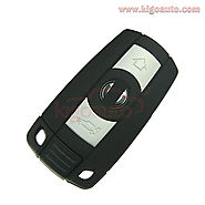 Smart key case 3 button for BMW 3 5 series