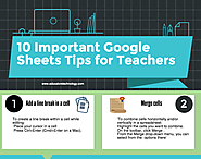 Some Handy Google Sheets Tips for Teachers