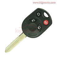 OUCD6000022 Remote key 4 button 315Mhz Electronic ID63 80bit FO38 for Ford