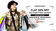 Koovs Coupons, Offers: Get Cashback Upto Rs. 400 On Every Order