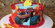 Blaze and the monster machines themed birthday party ideas and supplies