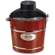 Aroma 4-Quart Traditional Ice Cream Maker - Kitchen Things