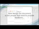 How to get user feedback on a document stored in SharePoint