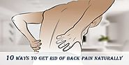 How to Cure Back Pain Fast at Home