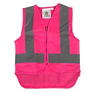 Buy Online Pink Zipped Child Vests | NZ