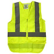 Buy Online Yellow Zipped Child Vests | NZ