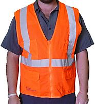 Website at https://www.safetyvests.co.nz/product/beseen-orange-safety-vests-with-lights/