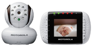 Motorola MBP33 Wireless Video Baby Monitor with Infrared Night Vision and Zoom, 2.8 Inch