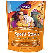 Halo Spot's Stew Cat Formula Grain-Free Hearty Chicken recipe