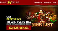 Planet 7 Casino-Get $4000 Bonus | 400% Sign Up and 40 Spins