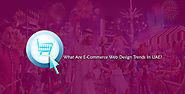 What Are E-Commerce Web Design Trends In UAE?