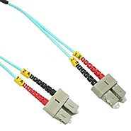 50/125 10G Multimode Duplex Fiber Optic Cable Made in USA