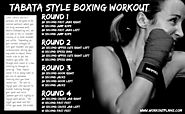 Tabata Style Boxing Workout
