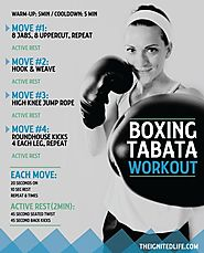 Boxing Tabata Workout