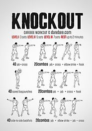 KnockOut Shadow Boxing Workout