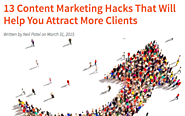 Every Content Marketer Needs to Know These Awesome Hacks!