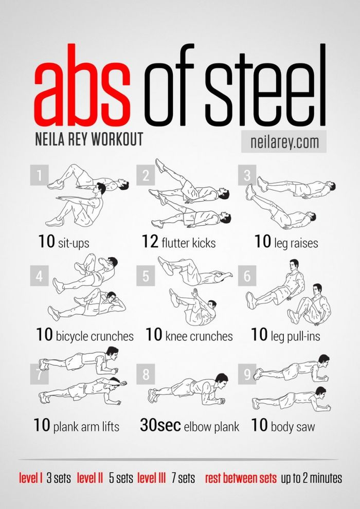 This Is A Good Beginner Routine To Start With That Can Be Done At Home Seems Easy Since Only 10 Reps Are Recommended But After Three Sets You Will