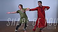 Shape of You | Kathak-Fusion | Rohit Gijare & Shivani Badgi | Ed Sheeren | Divide