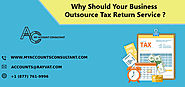 Why Should Your Business Outsource Tax Return Services ?