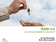 RAMI 4.0 - an architectural model for Industrie 4.0