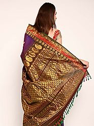 Gadwal Bridal Saree