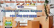 Packers And Movers Gurgaon – Tips On The Best Way To Deal With See In Any Case In Case You're Moving Association Is O...