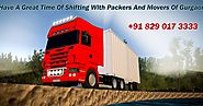 Packers and Movers Gurgaon: Shifting Equipments Is Not An Appropriate Thought For An Individual- Movers And Packers I...