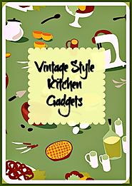 Vintage Style Kitchen Gadgets - Unique Retro Gifts - Long Ago Share