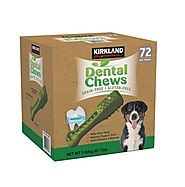 Kirkland Signature Dental Chews 72 Dog Treats