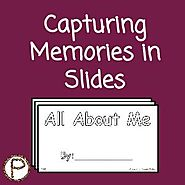 Capturing Memories in Slides