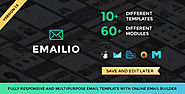 Emailio Responsive Multipurpose Email Template With Online Email Builder